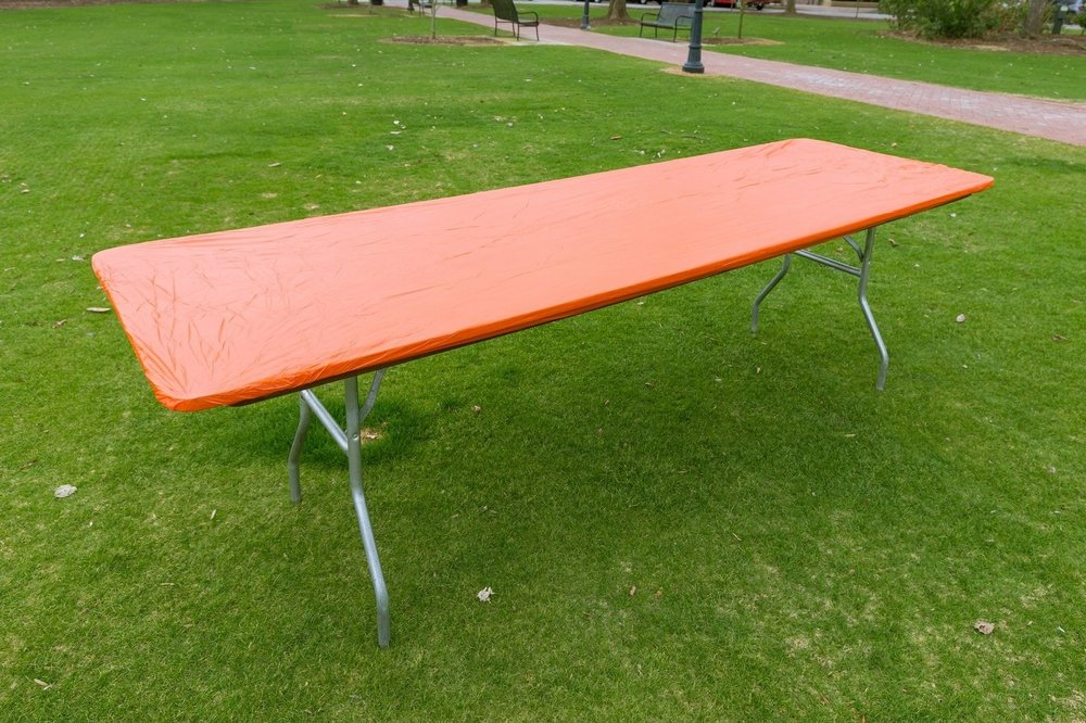 8' Table w/ cover