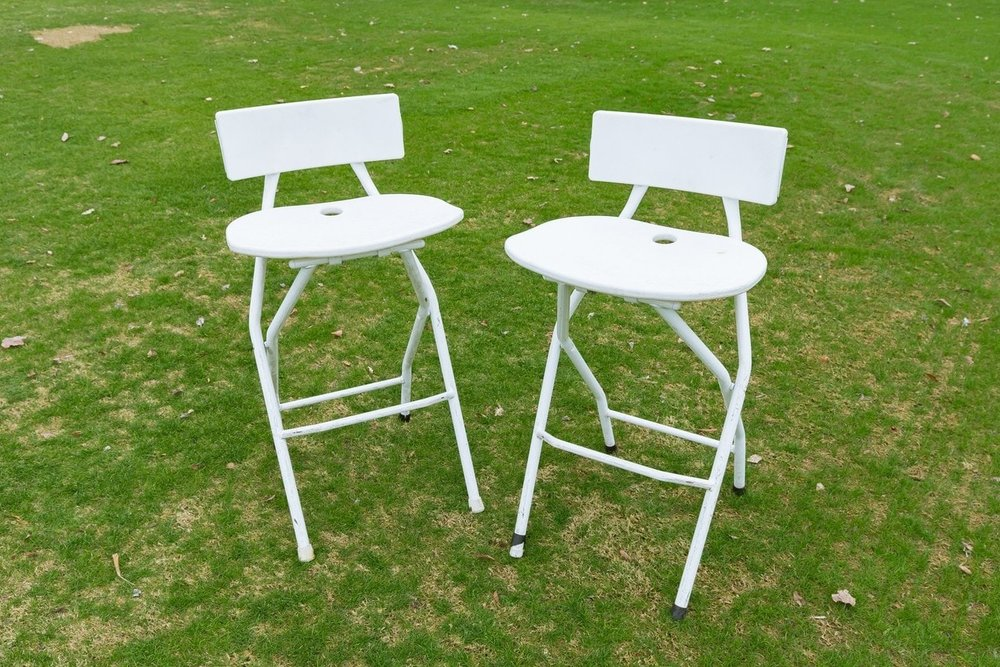 Folding Barstools (set of 2)