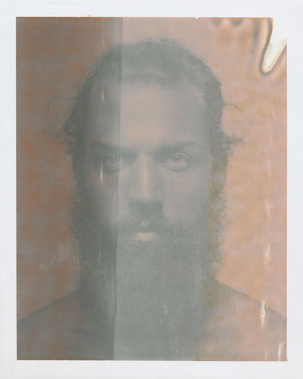 "PHIL (F), 2015  8"" X 10"" POLAROID"