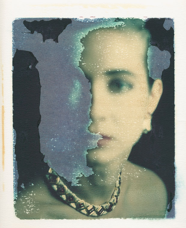 "DOMINO MAGAZINE, 1988  8"" X 10"" POLAROID TRANSFER"