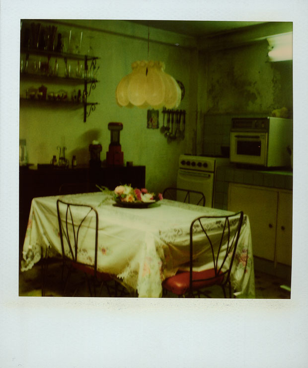 EDDIE'S KITCHEN, 1994   600 POLAROID