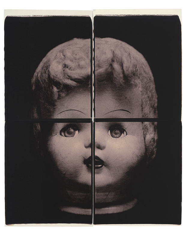 "HEAD, 1998  20"" X 24"" POLAROID"
