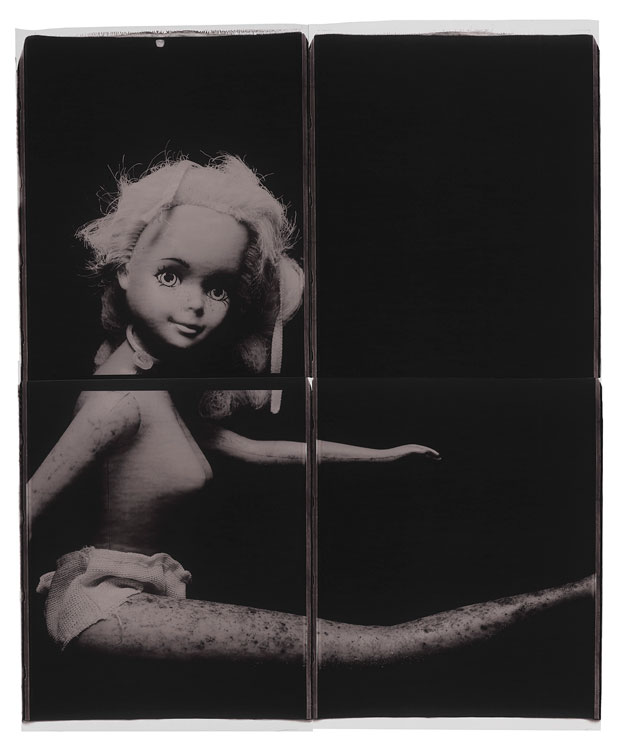 "BARBIE, 1998  20"" X 24"" POLAROID"