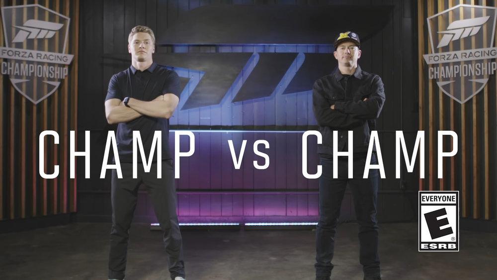 Forza Motorsport 7 Champ vs Champ