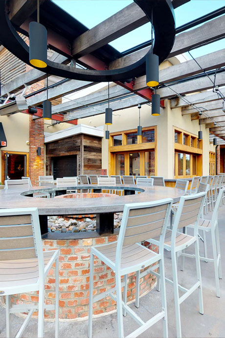 matchbox rockville · maryland  Located in Congressional Plaza on Rockville Pike, across from the Twinbrook Metro. The Congressional Room accommodates 30 guests seated, or 35 guests standing, reception-style. The Patio Room accommodates 24 guests seated, or 40 guests standing, reception-style, and the Barrel Room accommodates 55 guests seated, or 70 guests standing, reception-style.  View  the space.