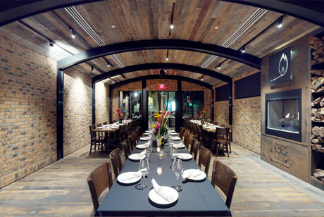 matchbox sawgrass mills · sunrise, fl  Located inside the colonnade at Sawgrass Mills mall. The Barrel Room accommodates 55 guests seated or standing, reception-style. The outdoor patio accommodates 30 guests seated, or 40 guests standing, reception-style.  View the space .