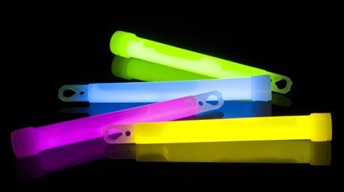 Candy Free Halloween Ideas Glow Sticks