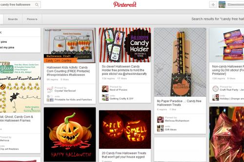 candy_free_halloween Pinterest Ideas