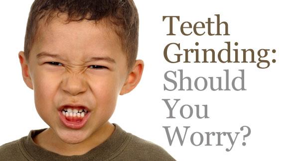Teeth Grinding in kids, bruxism
