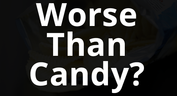 foods worse than candy