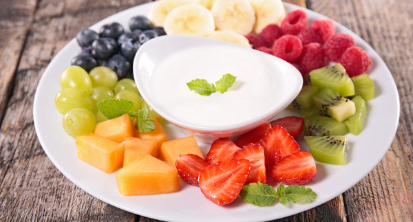 healthy after school fruit dip