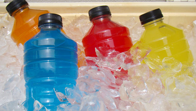 sports drinks and your teeth