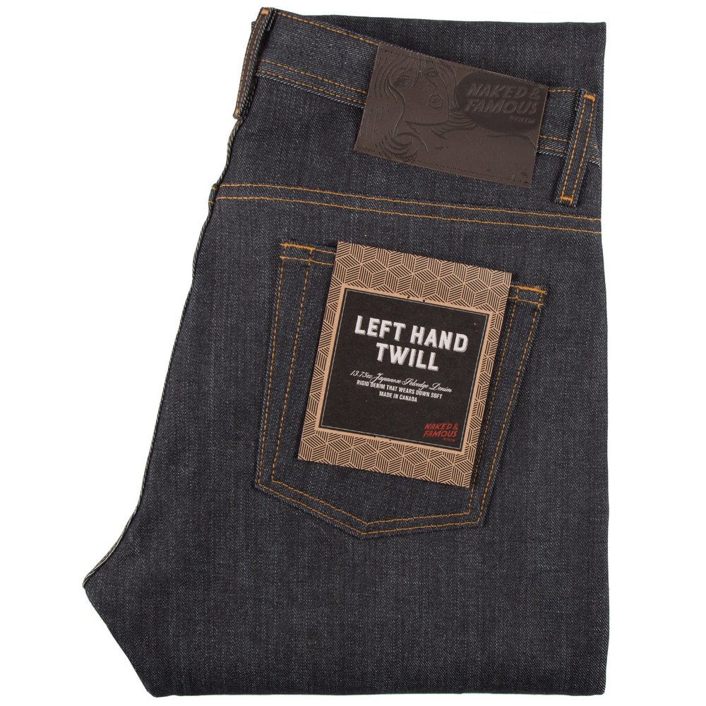 LEFT HAND TWILL SELVEDGE - Super Guy / Weird Guy / Easy GuySkinny Guy/ Groovy Guy / Strong Guy