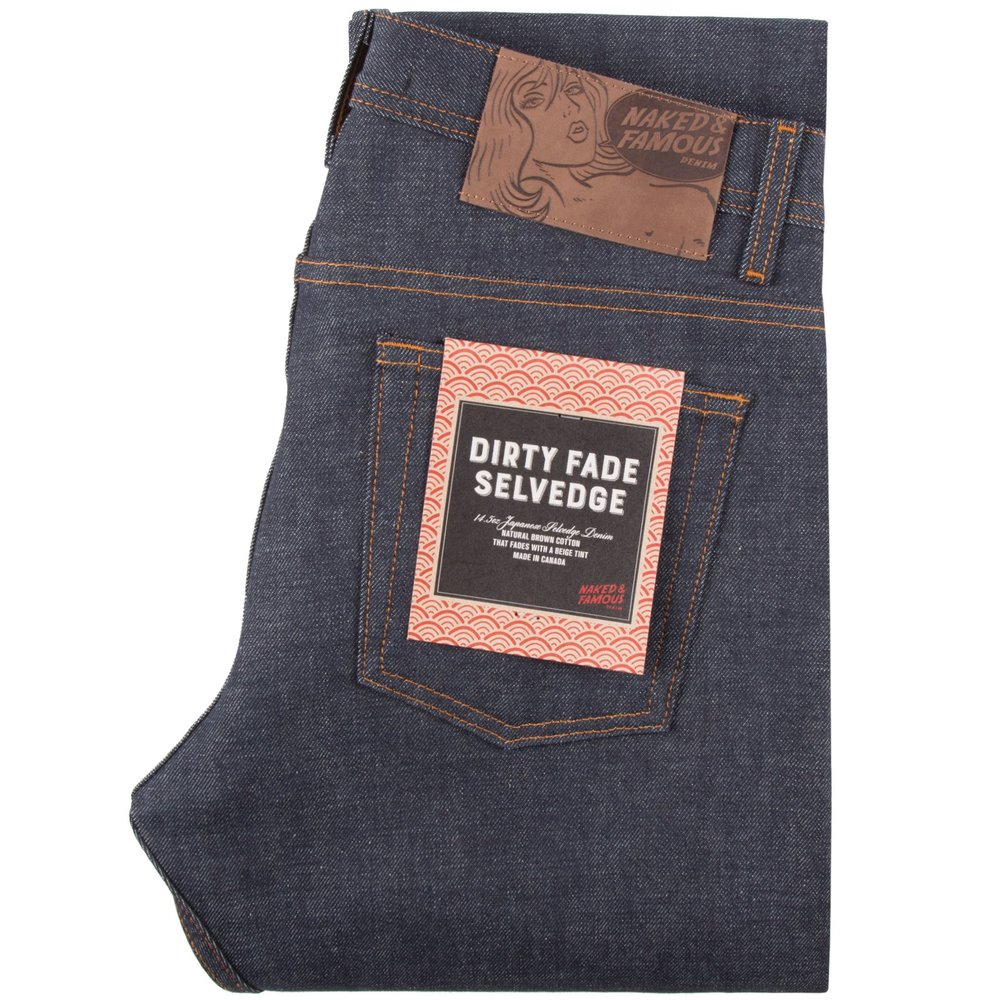 dirty fade selvedge - Super Guy / Weird Guy / Easy GuySkinny Guy