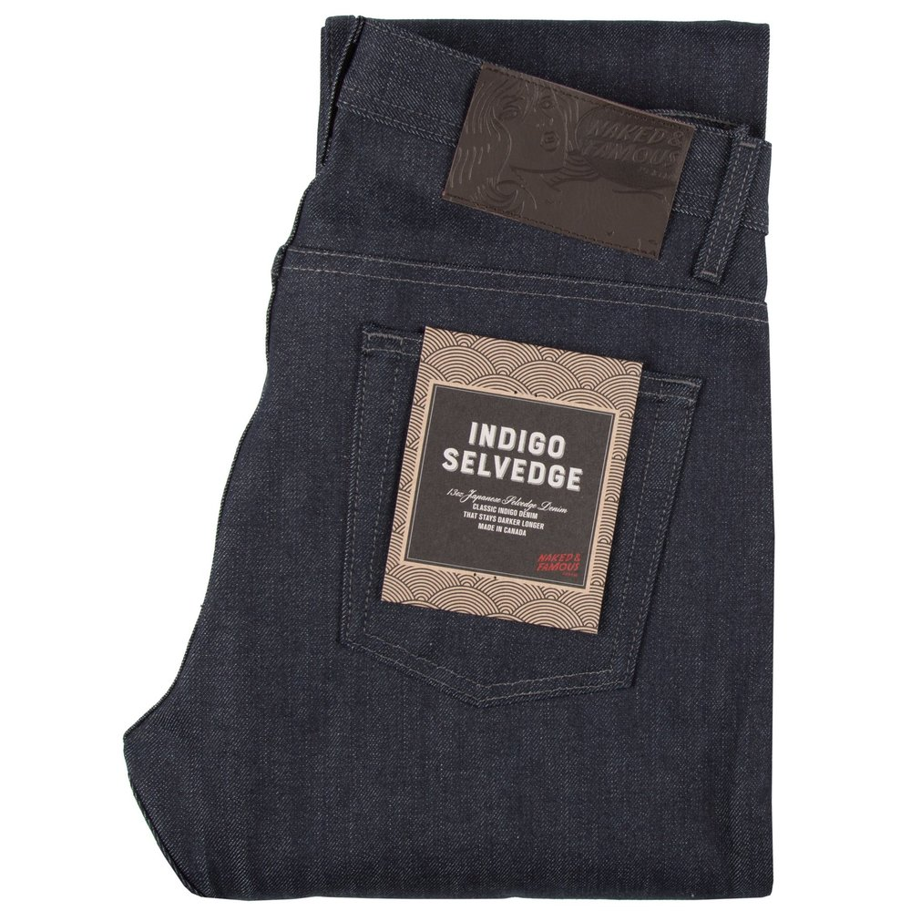 indigo selvedge - Super Guy / Weird Guy / Easy Guy