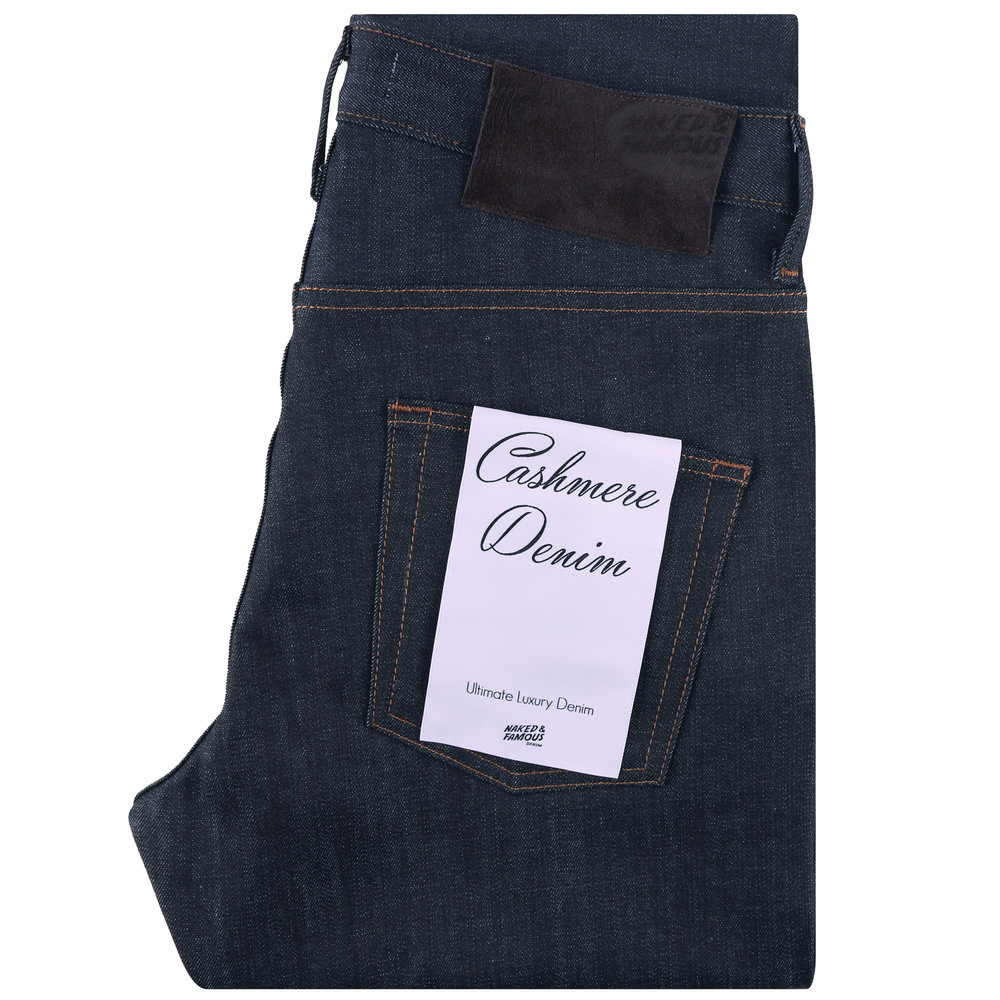 CASHMERE BLEND STRETCH DENIM - Super Guy / Weird Guy / Easy Guy