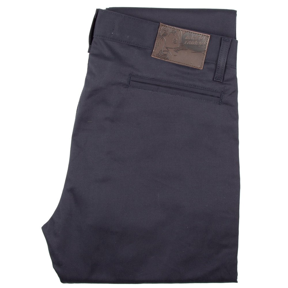 Navy stretch Twill - Slim Chino