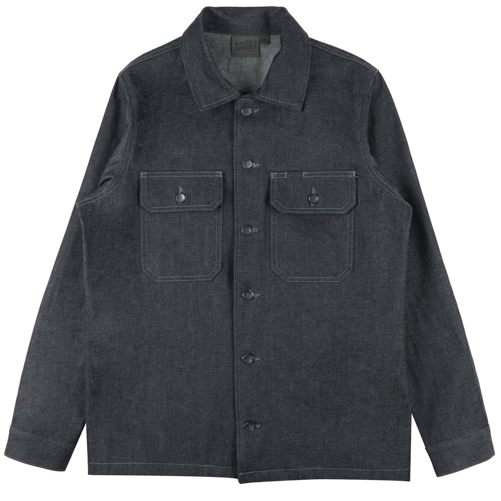 10oz INDIGO DENIM - Workshirt
