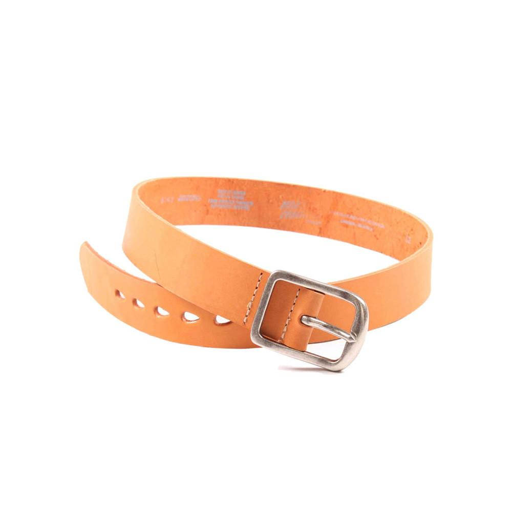 NATURAL 7mm LEATHER - Thick Belt