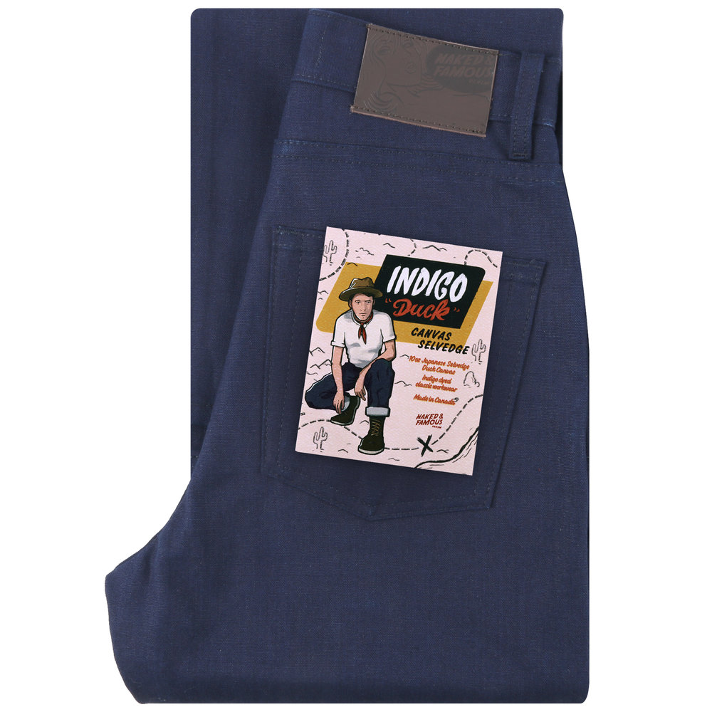 INDIGO DUCK CANVAS SELVEDGE - Classic