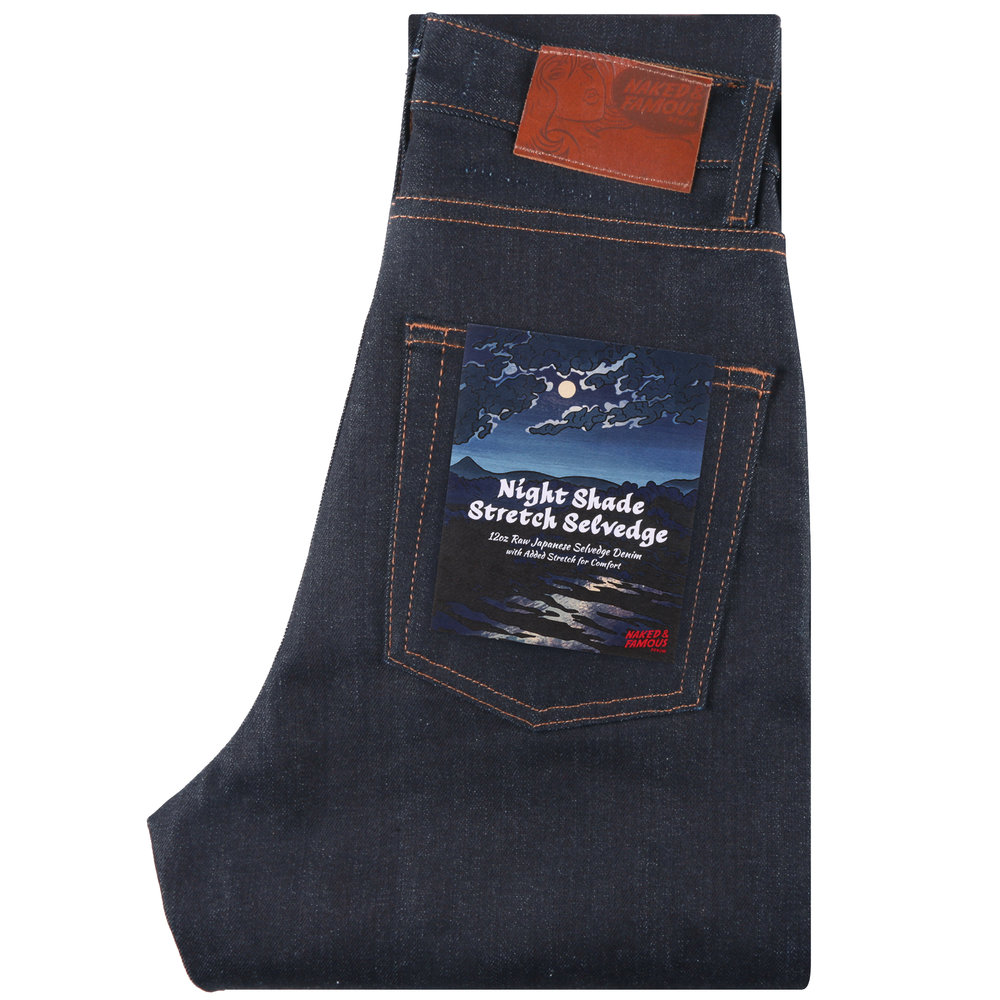NIGHT SHADE STRETCH SELVEDGE - High Skinny / Max