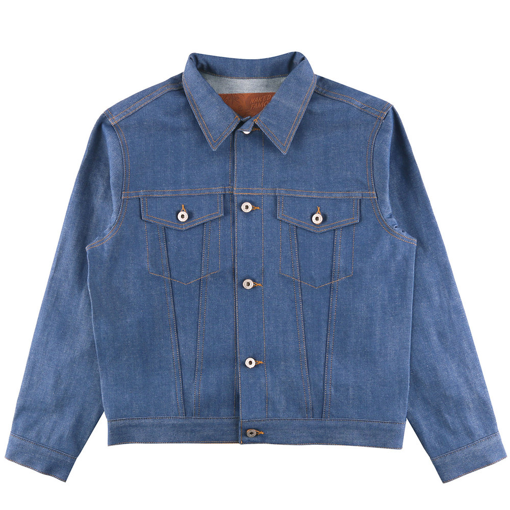 CLEAR BLUE SELVEDGE - Denim Jacket