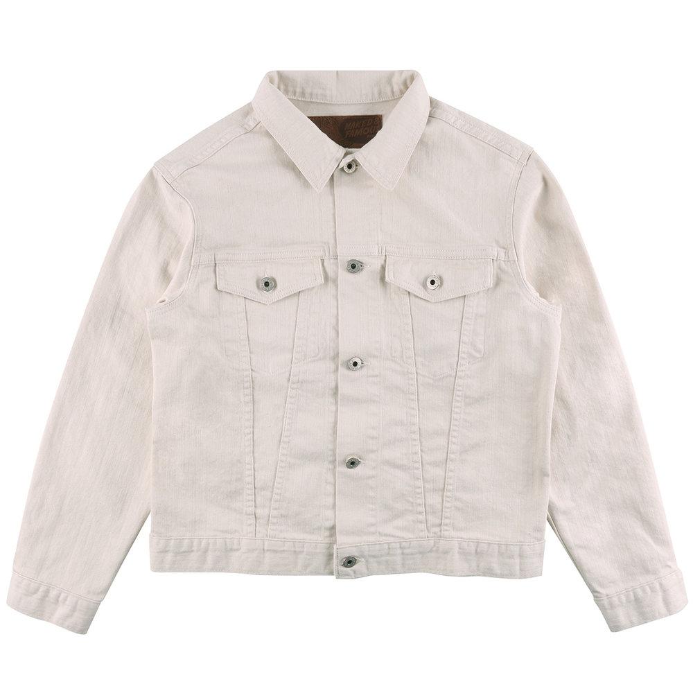 NATURAL SEED DENIM - Denim Jacket