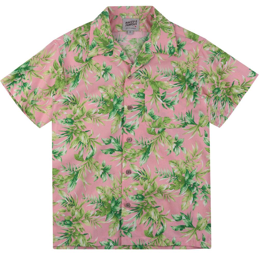 BIG TROPICAL -PINK - Aloha Shirt