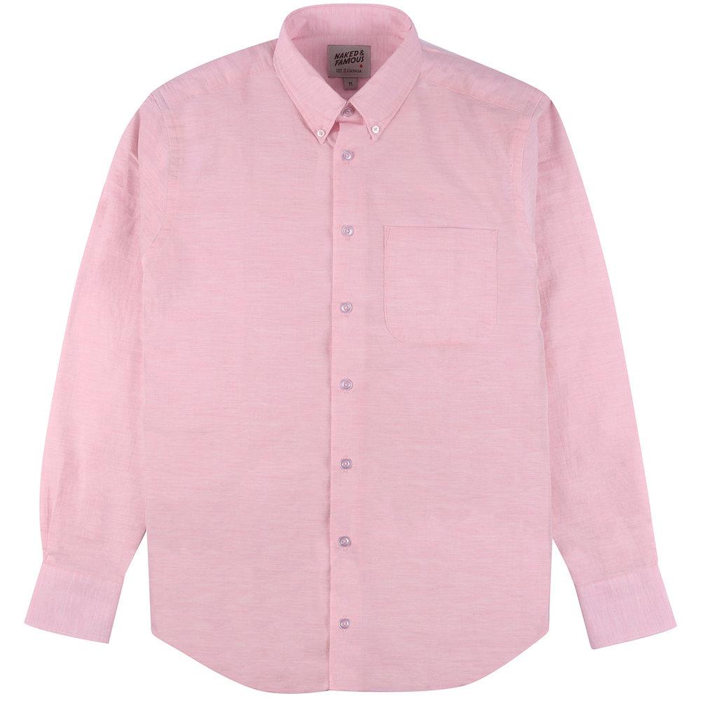 HEATHER GAUZE - PINK - Easy Shirt
