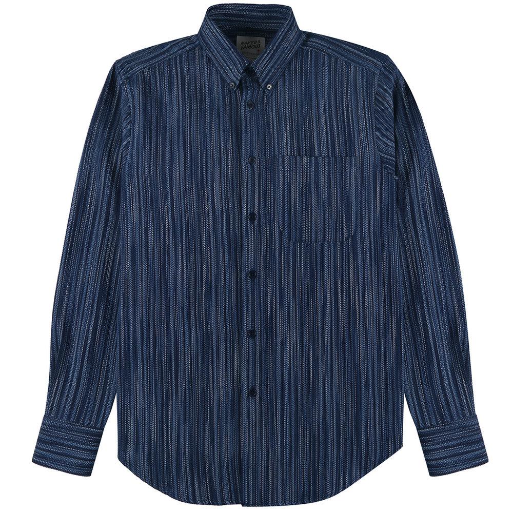 INDIGO STRIPES - Easy Shirt