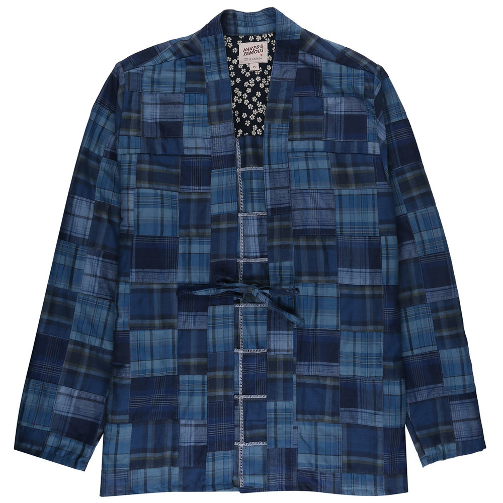 BORO PATCHWORK - Kimono Shirt