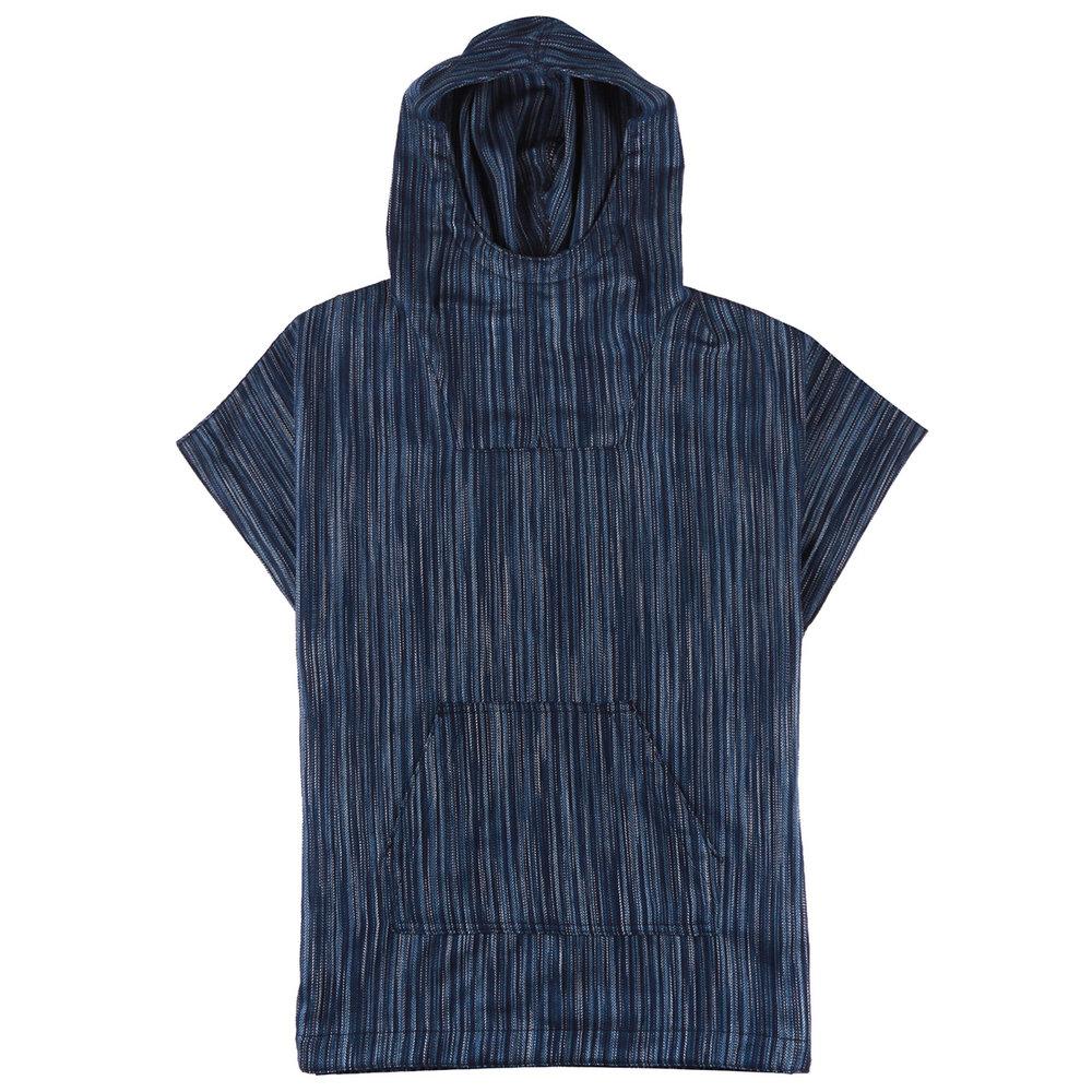 indigo stripes - Anorak
