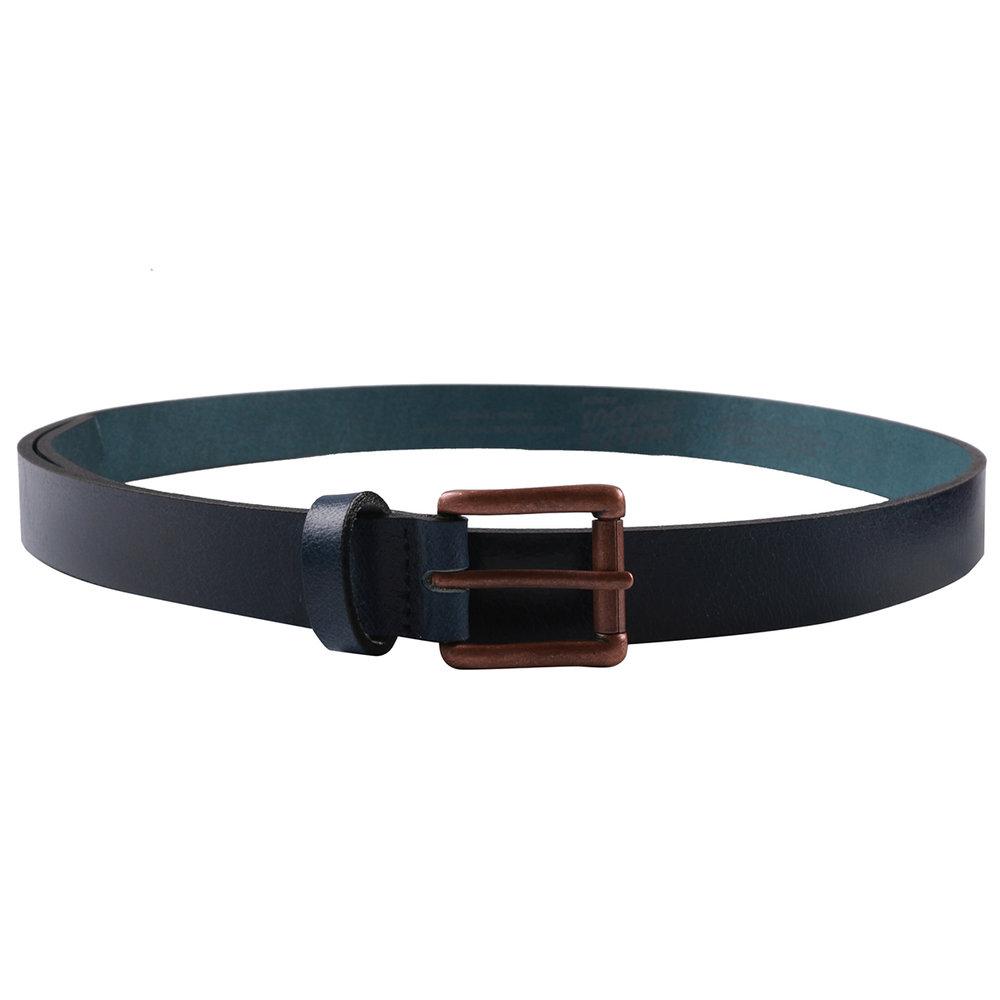 INDIGO BUFFALO LEATHER - Buffalo Belt