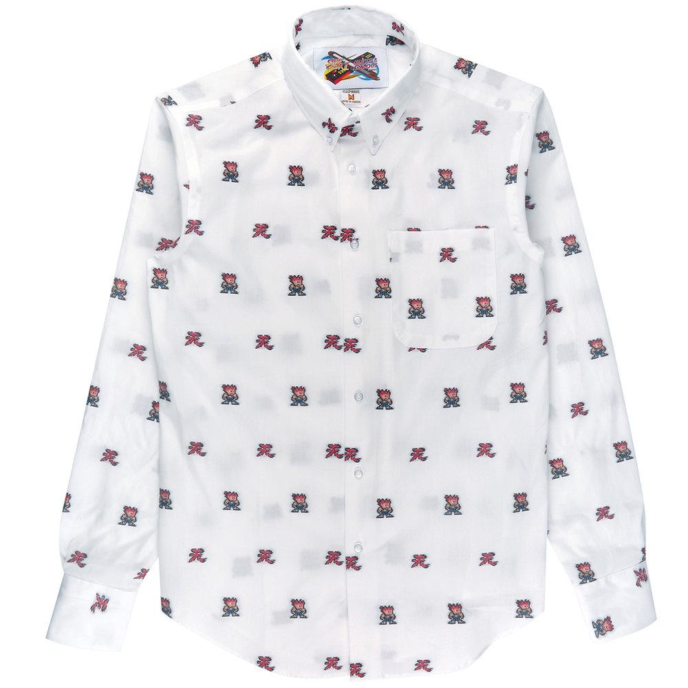 Akuma + Heaven Jacquard Shirt -
