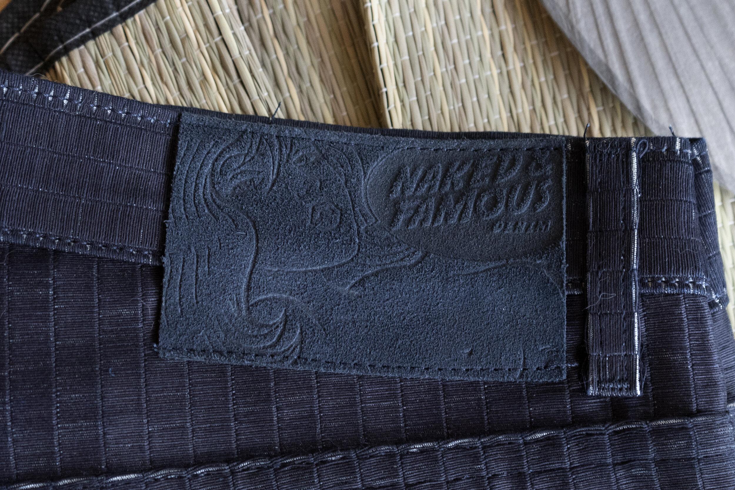 Tatami Denim - Leather Patch
