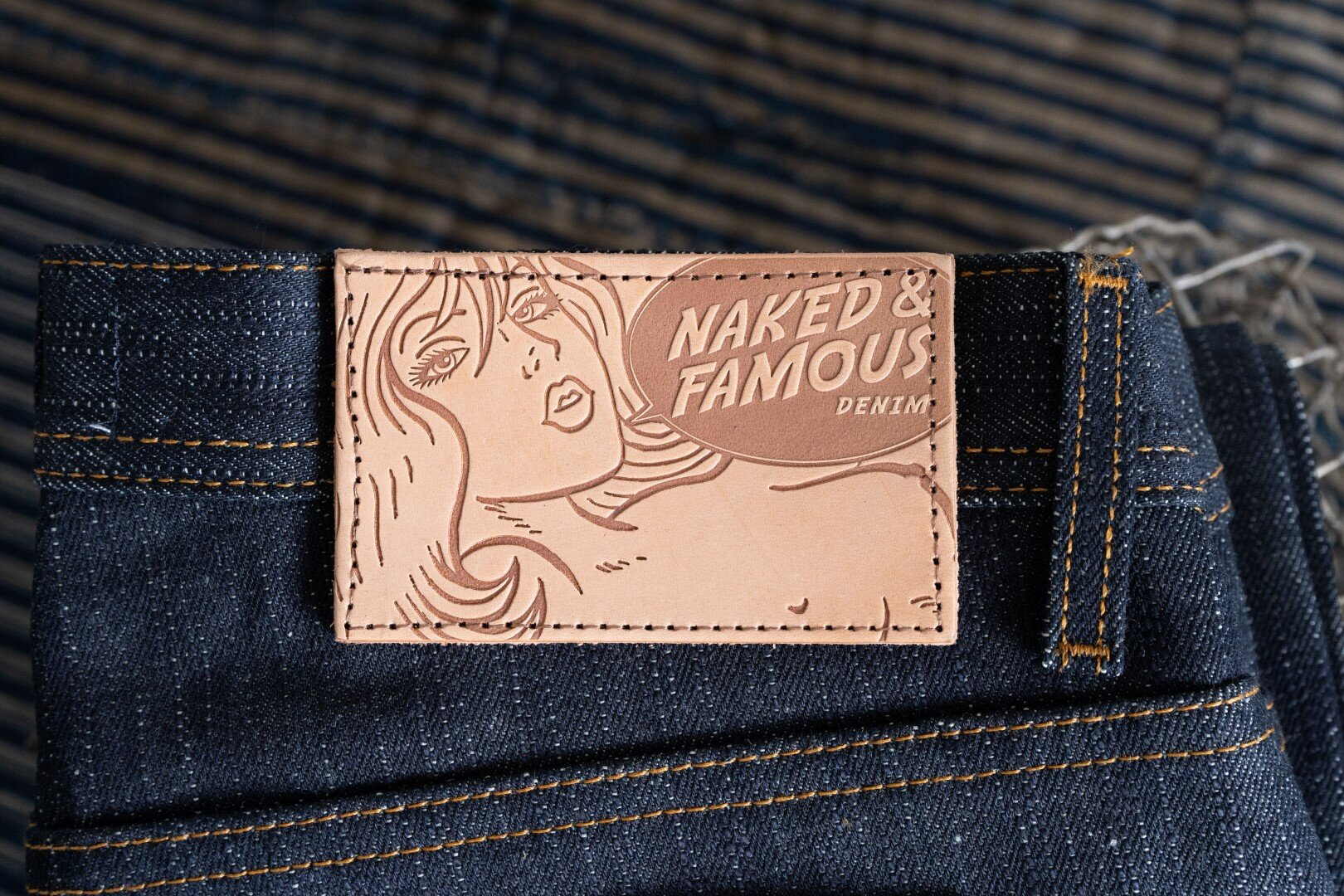 Okayama Spirit 4 - Leather Patch