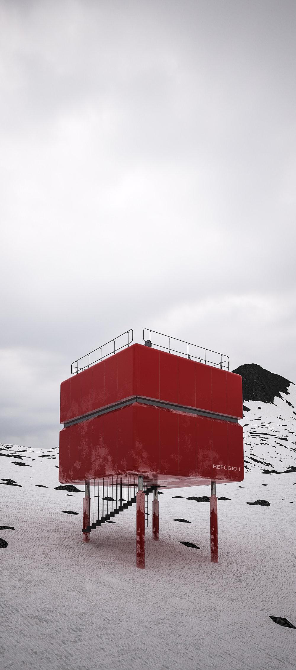 Comandante Ferraz  Brazilian Research Base , Keller Peninsula, Antarctica   learn more →