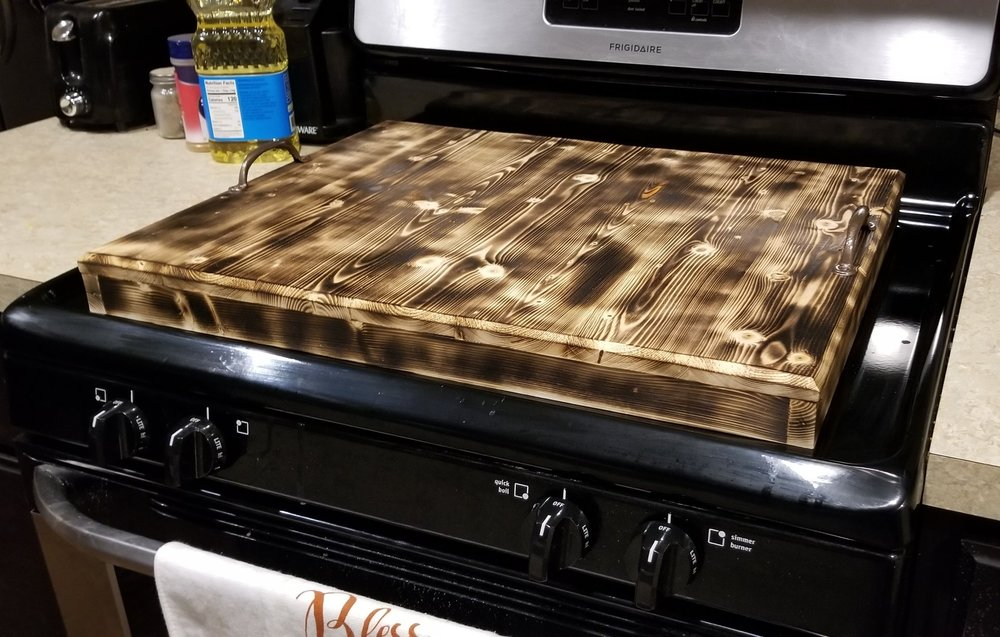 Stove top cover/Food tray