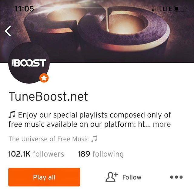 """@tuneboostofficial thank you so much for reposting """"Sleeping on Me"""" on SoundCloud! Grateful 🙏🏻 Go check it out!"""