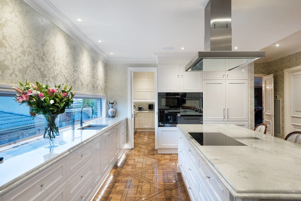 Goldenview, Kitchen, by Bellemore Homes in Wheelers Hill.