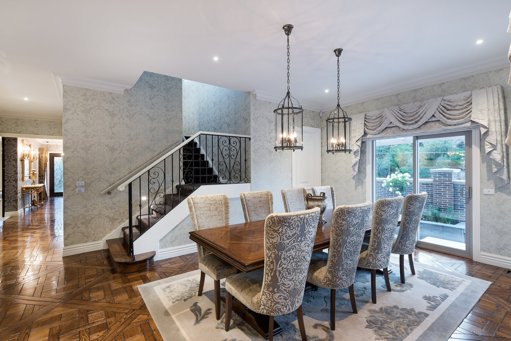 Goldenview, Formal Living Room, by Bellemore Homes in Balwyn in Wheelers Hill, Victoria