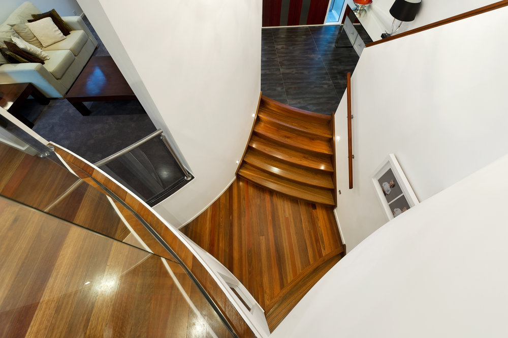 Coleman, Spiral Staircase, by Bellemore Homes in Kew East
