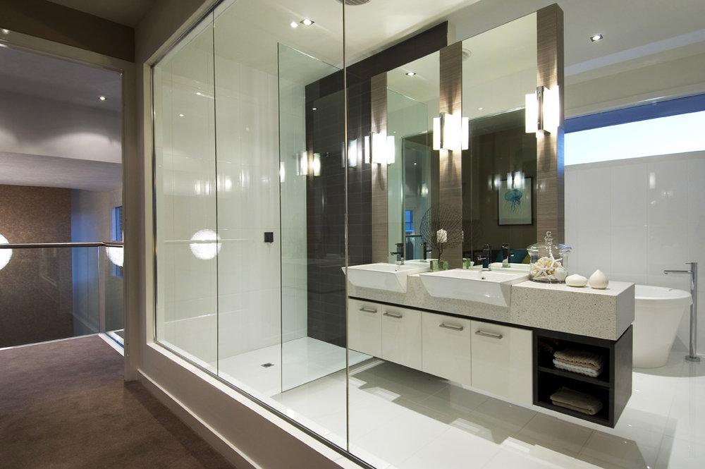 Newport, Bathroom, by Bellemore Homes in Springthorpe, Victoria