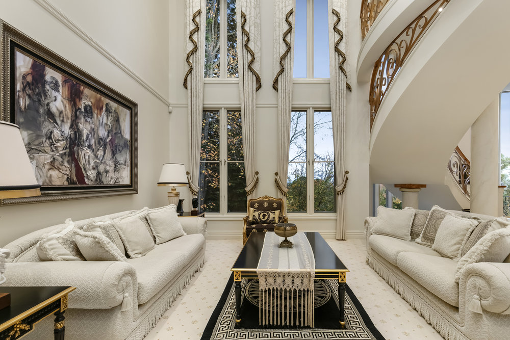 Foxley Manor, Formal Living Room, by Bellemore Homes in Wheelers Hill, Victoria