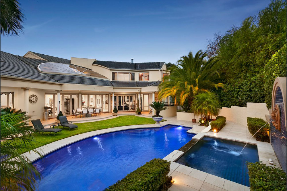 Foxley Manor, Pool, by Bellemore Homes in Wheelers Hill, Victoria