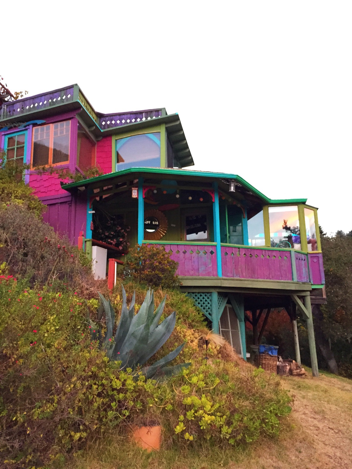 Rainbow House Big Sur