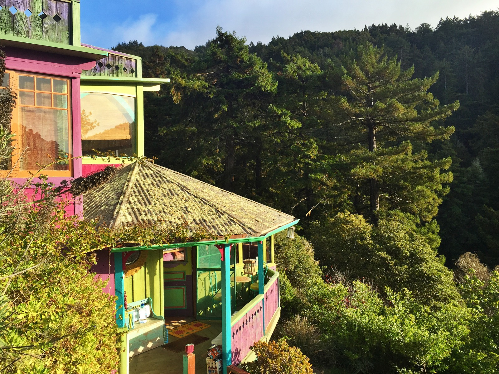 Rainbow House Dragon House Big Sur