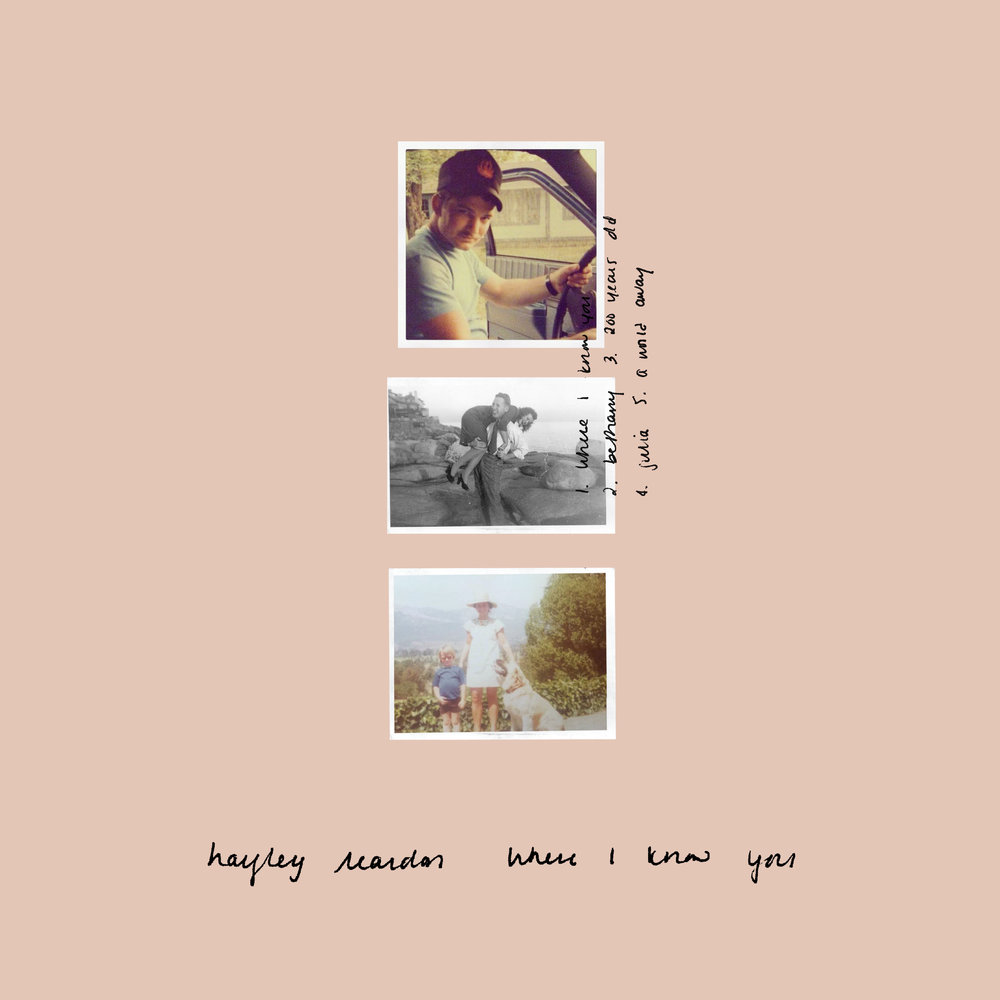WHERE I KNOW YOU  (OUT MARCH 1, 2019)