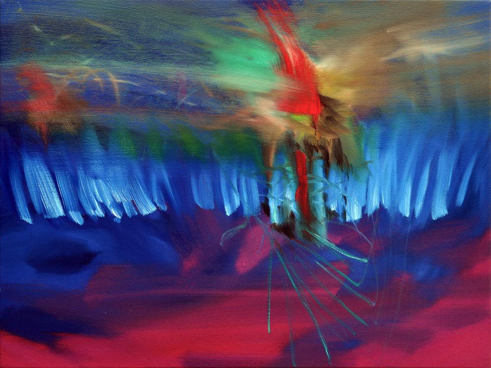 "2013-13, Oil on canvas, 18 x 24"""