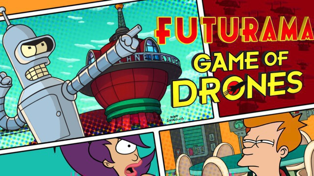 Futurama Game of Drones by Wooga